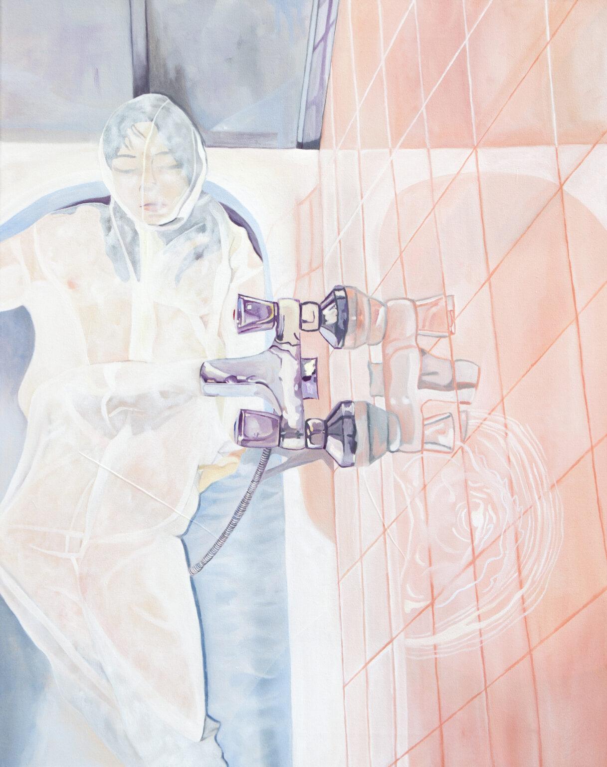 Winterschlaf, Öl auf Leinwand, 55x70, 2020