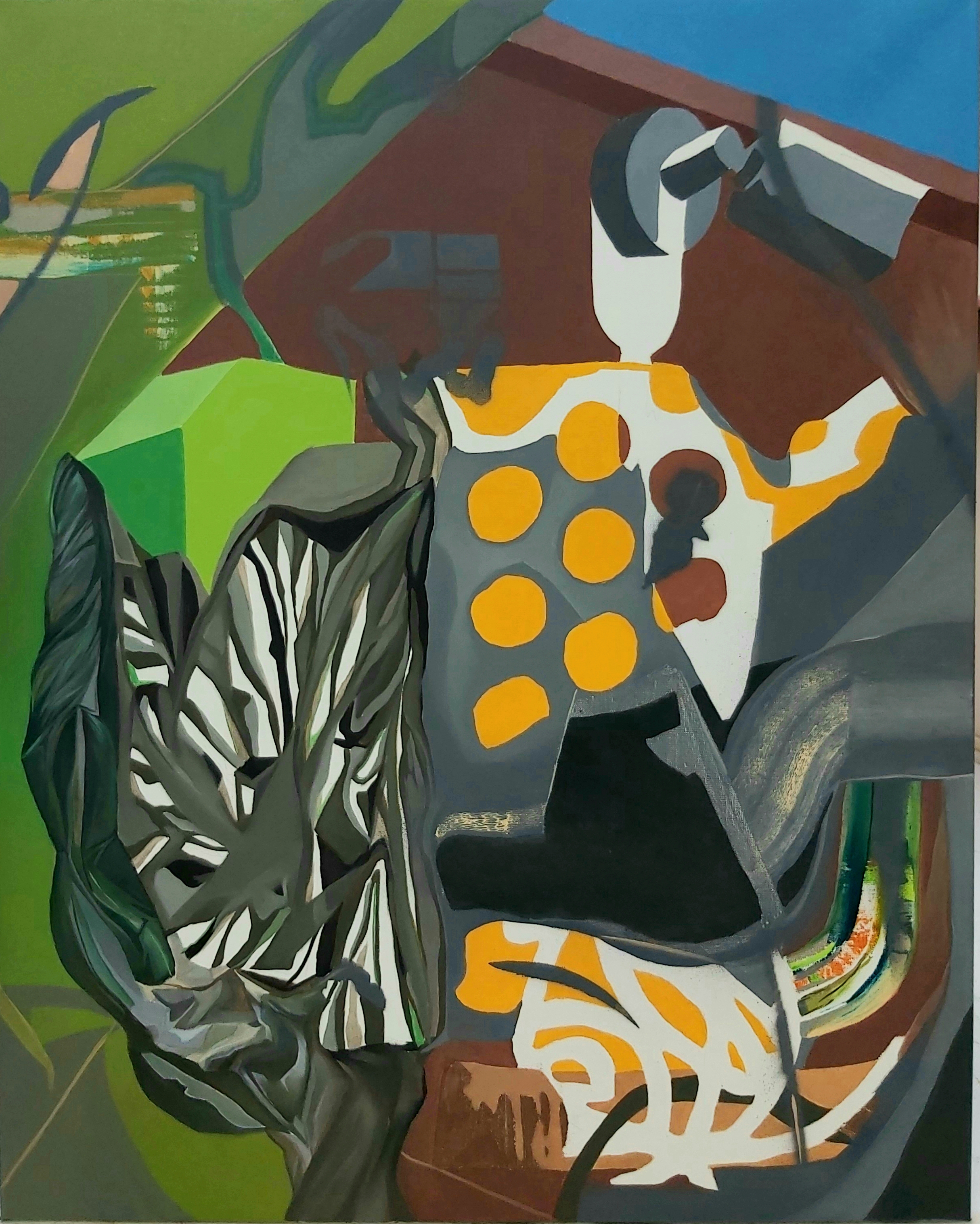 Nahuel Rinaudo, o.T. 2020, 100 x 80 cm