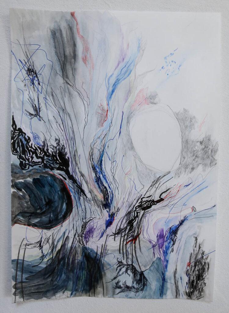 2020, Zeichnung, Din4